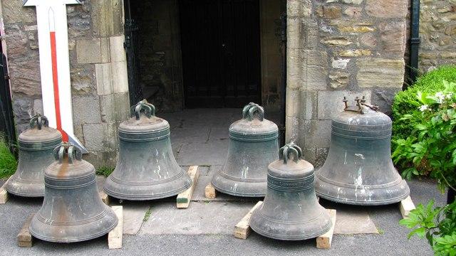 The Dent church bells