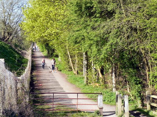 Footpath, Stretford Ees