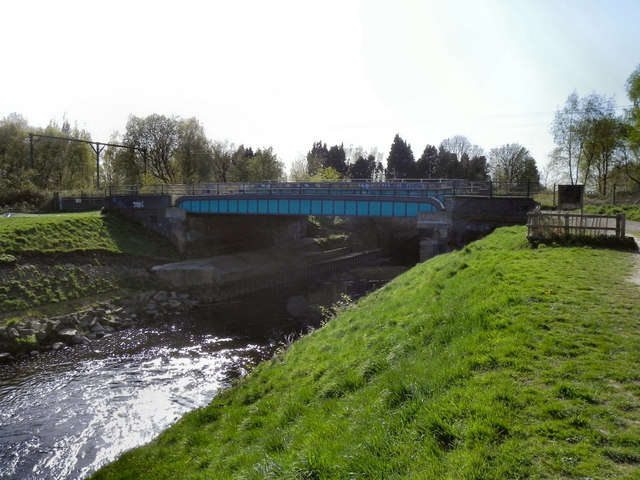 River Mersey, Barfoot Bridge