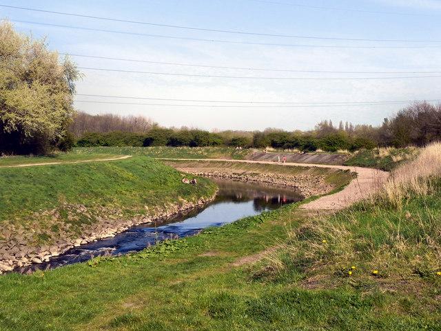River Mersey, Stretford Ees