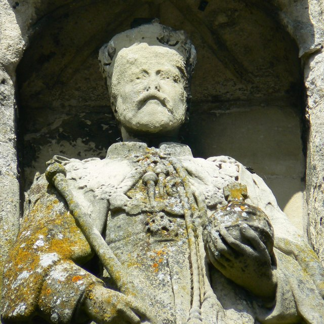 King Edward VII, South elevation, North Gate, High Street, Salisbury (2 of 2)