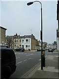 TQ2576 : Putney Bridge to Parsons Green and back via Hurlingham (87) by Basher Eyre