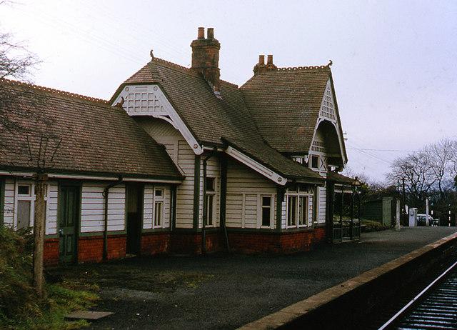 Trooperslane railway station