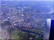 TQ2780 : Hyde Park and Battersea from the air by Thomas Nugent