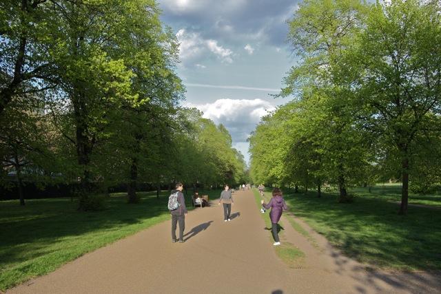 The North Walk, Kensington Gardens