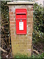 TM3161 : Mill Green Postbox by Adrian Cable