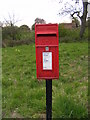 TM3160 : Silverlace Green Postbox by Adrian Cable