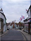 TM2863 : Bridge Street, Framlingham by Adrian Cable