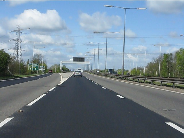 M40 Motorway - it starts here