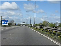 TQ0485 : M40 Motorway at junction 1 by Peter Whatley