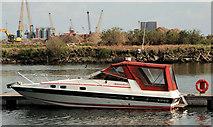 J3475 : Belfast Harbour marina (3) by Albert Bridge