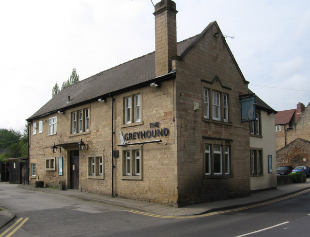 Mansfield Woodhouse - The Greyhound by Dave Bevis