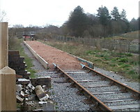 SO2508 : The end of the line, Blaenavon (High Level) railway station by Jaggery