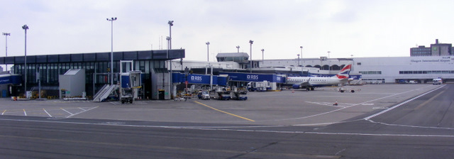 Airside at Glasgow Airport