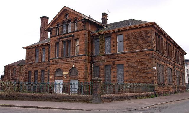 Broomloan Road School, Govan