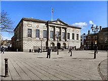 SJ9223 : Shire Hall and Market Square, Stafford by David Dixon