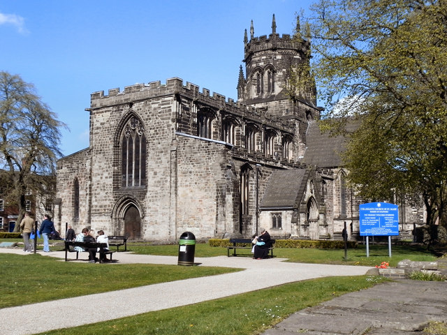 The Collegiate Church of St Mary, Stafford