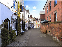 SJ9223 : Church Lane, Stafford by David Dixon