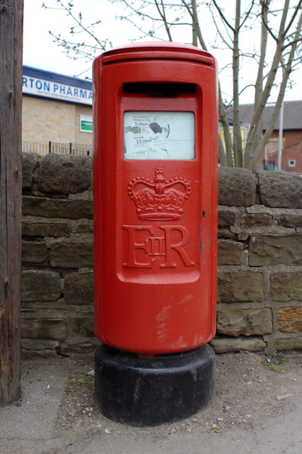 Queen Elizabeth II Postbox, Darton