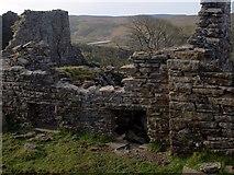 NY7844 : Hardege ruins by Paul Glover