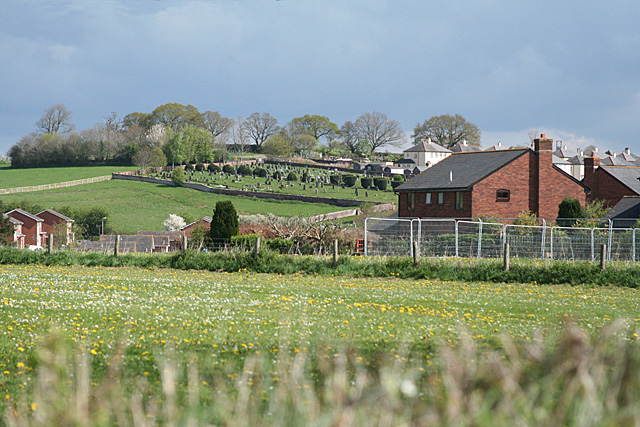 Cullompton: towards St Andrew's Hill