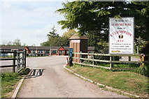 ST0107 : Cullompton: entrance to Stafford Park by Martin Bodman