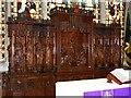 SO9422 : Reredos, St Mary's Church, Cheltenham by Brian Robert Marshall