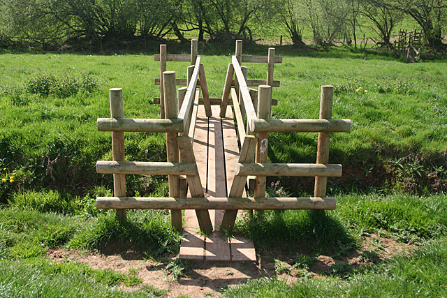 Cullompton: footbridge