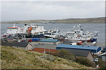 HU4642 : Holmsgarth, Lerwick, from North Staney Hill by Mike Pennington