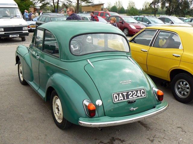 Old Classic Cars >> 1965 Morris Minor, Footman James 32nd... © Brian Robert ...