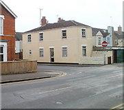 SU1585 : Corner of Station Road and Gladstone Street, Swindon by Jaggery