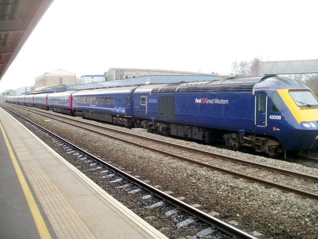 First Great Western train, Swindon station