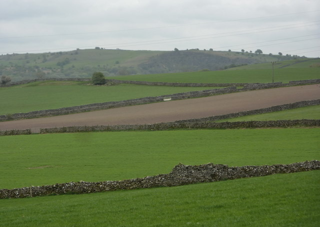 Fields above the Griffe Grange valley