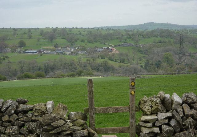 View across the Griffe Grange valley