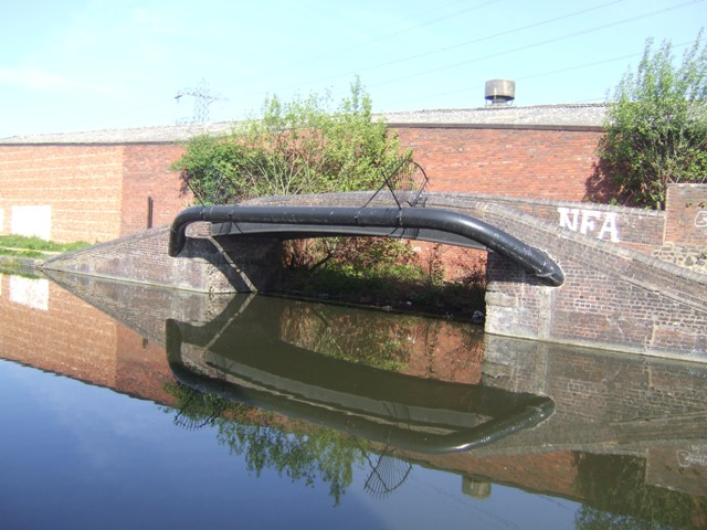 Tame Valley Canal - Former wharf entrance