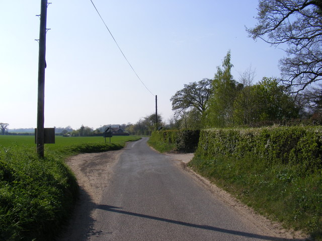 Low Road, Great Glemham