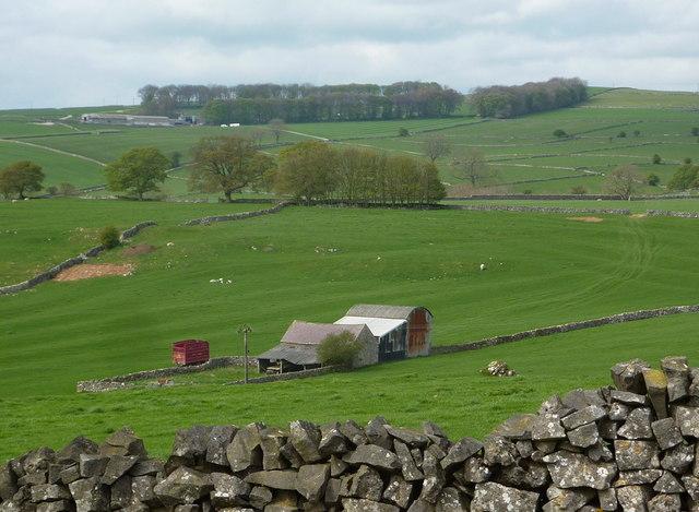 Upland farming scene north of Parwich