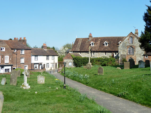 Cobham churchyard