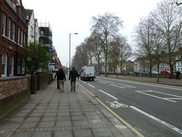 Putney Bridge to Parsons Green and back via Hurlingham (106)
