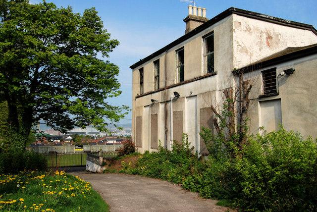 Former Ulster Maple Leaf Club, Belfast (2011)