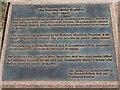 TQ2680 : Plaque by Speke Memorial, Kensington Gardens by David P Howard