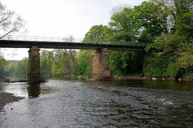 Bridge over the Tees, Low Dinsdale