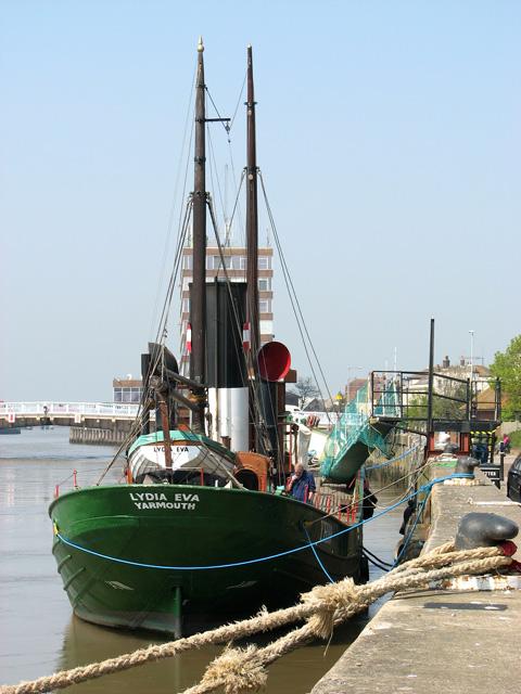 The Lydia Eva, Great Yarmouth