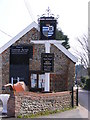 TG2536 : Vernon Arms Public House sign by Geographer