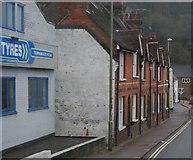 TQ4210 : Terraced houses, Malling Street by N Chadwick