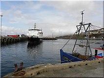 NM6797 : Mallaig harbour by Kenneth  Allen