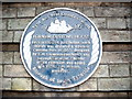 NZ3566 : A commemorative plaque, Tyne & Wear County Council (1986) by Stanley Howe
