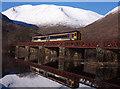 NN1328 : Train at Loch Awe by The Carlisle Kid