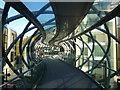 NT2574 : Leith Street Pedestrian Footbridge by Anthony Parkes
