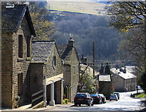 SD9906 : Woods Lane, Dobcross by Michael Fox